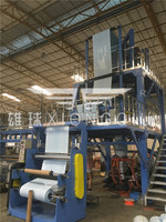 1300mm AB PE Film Blowing Machine with Horizontal Oscillating Unit