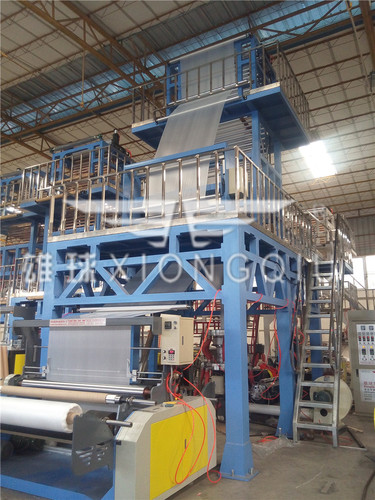 1700mm HDPE ABA Film Blowing Machine