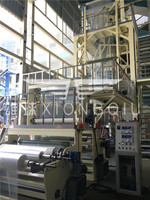 1500mm ABC LDPE Horizontal Oscillating Unit Film Blowing Machine