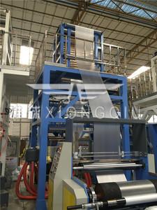 1100型HDPE吹膜机带单边自动收卷